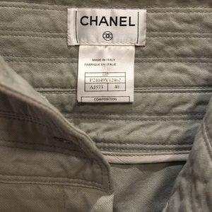 Chanel high waisted pants